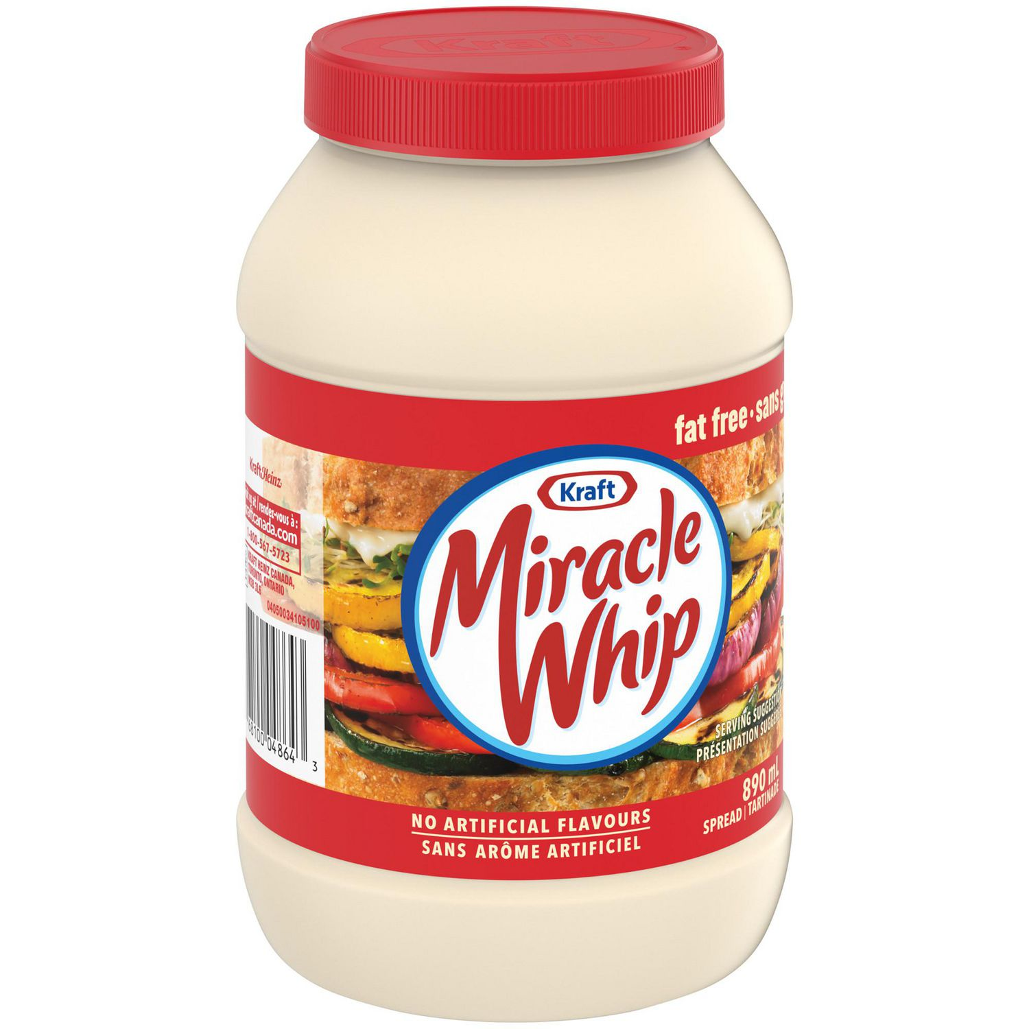 Cost Of Oil Change >> Miracle Whip Fat Free Spread | Walmart.ca