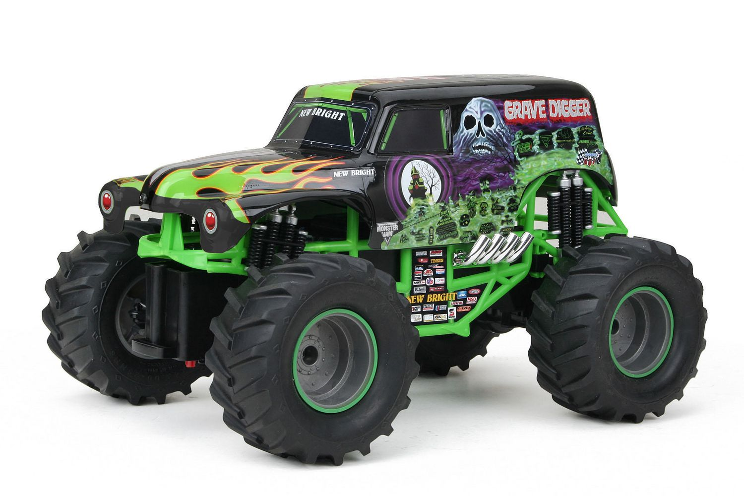fr ip new bright  rc camion grave digger