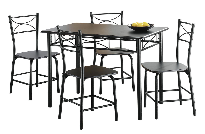 Salon Noir Blanc Gris Deco : fr meubles pour la cuisine et salle a manger N