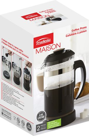 Cafeti re piston de trudeau maison - Cafetiere a piston avis ...