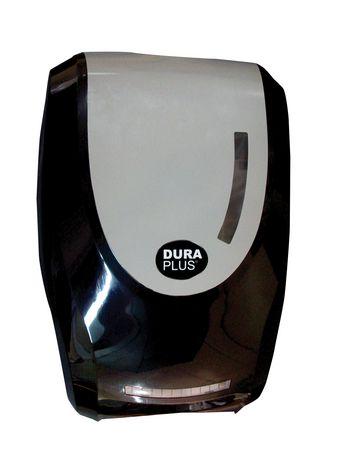 fr ip distributeur automatique savon moussant  ml en plastique noir de duraplus