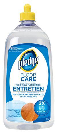 Pledge Future Premium Floor Finish Walmart