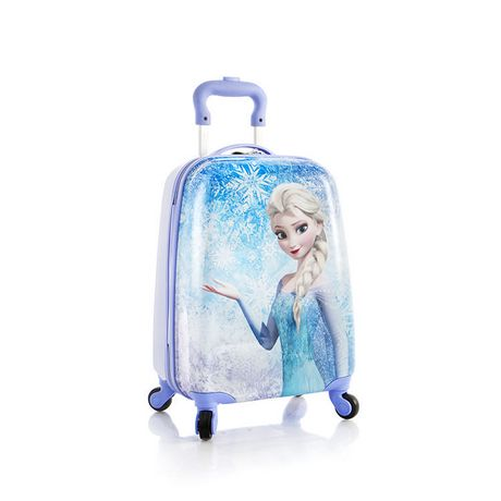 valise 4 roulettes la reine des neiges de disney par heys international pour enfants. Black Bedroom Furniture Sets. Home Design Ideas