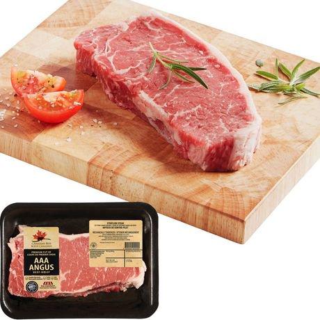 AAA Angus Beef Striploin Steak, Your Fresh Market ...
