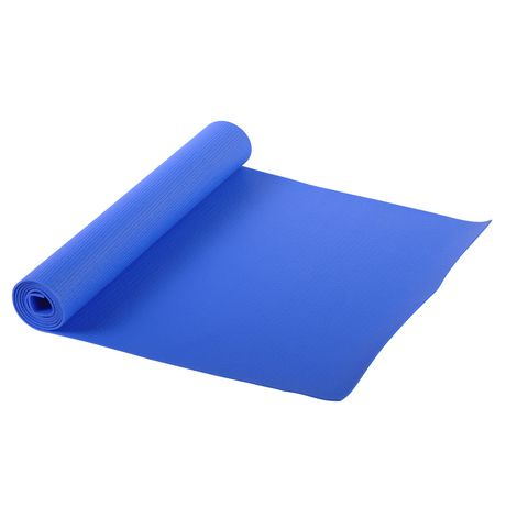 Sunny Health Amp Fitness Blue Yoga Mat Walmart Canada