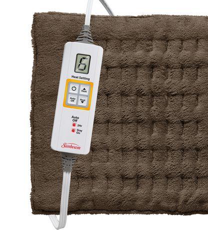 sunbeam xpress heat king size heating pad 2013 900 cn