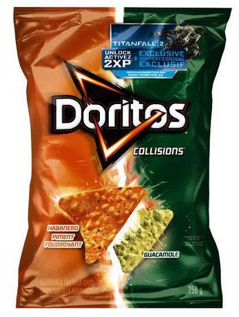 Doritos Collisions Habanero & Guacamole Tortilla Chips | Walmart.ca