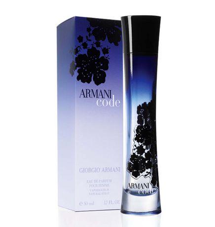 Armani parfum code
