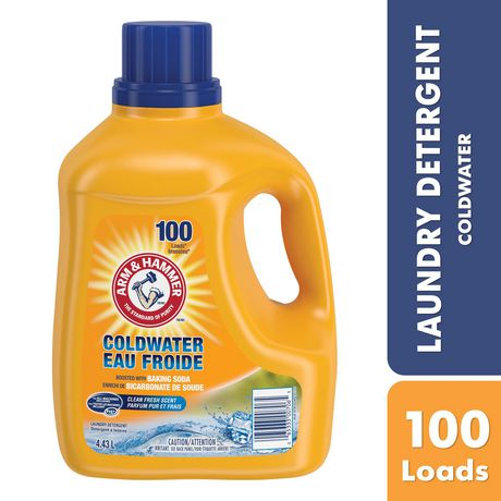 Arm Amp Hammer Cold Water Liquid Laundry Detergent Clean