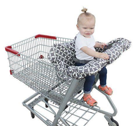 jolly jumper shopping cart cover with safety belt. Black Bedroom Furniture Sets. Home Design Ideas