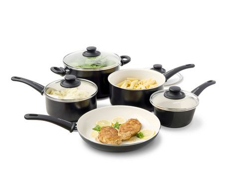 Green Life Healthy Ceramic Non Stick Cookware Set 9