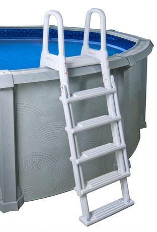 Blue wave chelle en forme de a repliable pour piscine for Backwash piscine hors terre