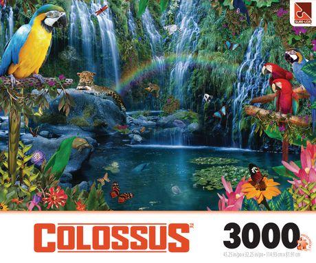 sure lox parrot tropics 3000 piece colossus puzzle. Black Bedroom Furniture Sets. Home Design Ideas