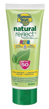 Banana Boat Kids Natural Reflect Spf 50 Sunscreen Lotion
