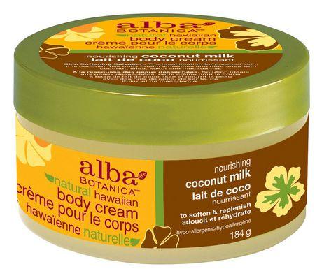 Natural Hawaiian Body Cream Nourishing Coconut Milk
