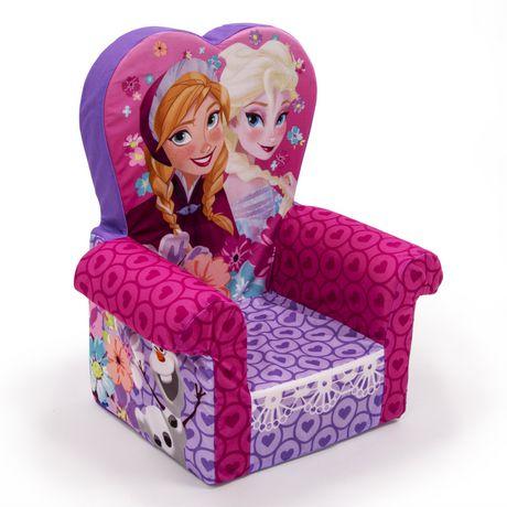 Marshmallow fauteuil dossier haut la reine des neiges - Fauteuil reine des neiges ...