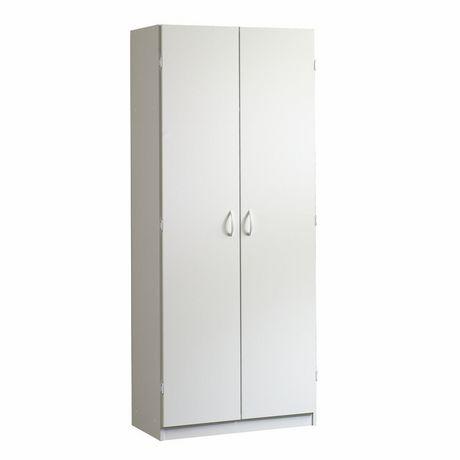 Sauder, Storage Cabinet, Soft White finish, 413678 ...