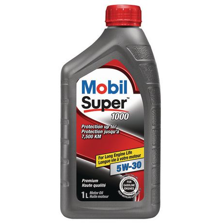 mobil super 1000 5w 30 1l motor oil. Black Bedroom Furniture Sets. Home Design Ideas