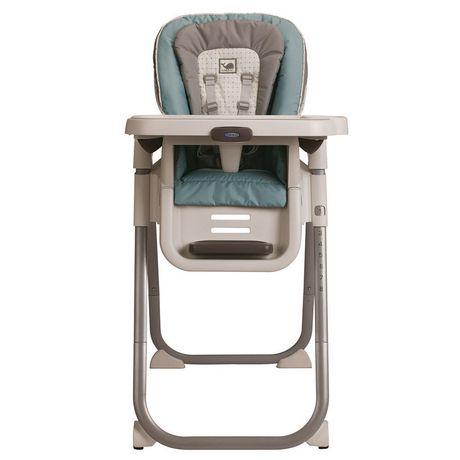 Chaise haute tablefit roan de graco for Chaise haute graco