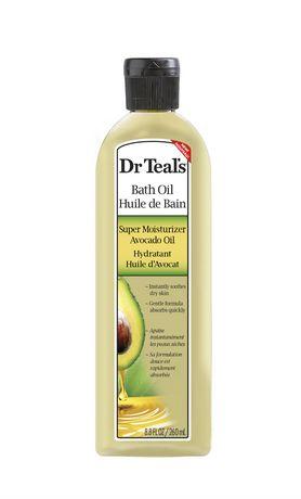Dr Teal S Bath Oil Super Moisturizer Avocado Oil Walmart Ca
