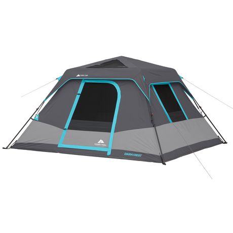 Ozark Trail 6 Person Dark Rest Instant Cabin Tent Walmart Ca