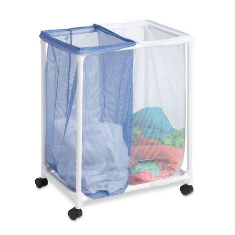 Honey Can Do 2 Bag Mesh Laundry Sorter Walmart Ca