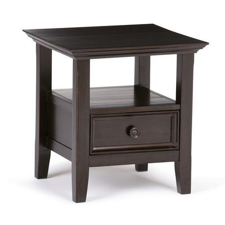 wyndenhall halifax end side table. Black Bedroom Furniture Sets. Home Design Ideas