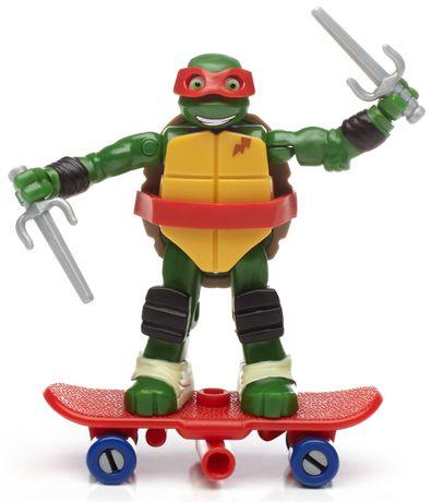 Mega construx teenage mutant ninja turtles raph - Tortue ninja skateboard ...