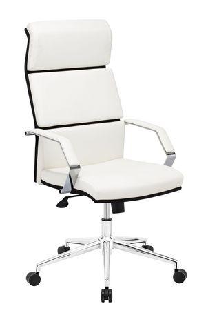 lider pro chaise de bureau blanc. Black Bedroom Furniture Sets. Home Design Ideas