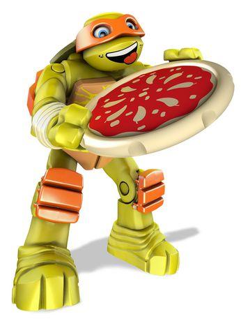 Ensemble de jeu les tortues ninja de mega bloks voiture - Tortues ninja pizza ...
