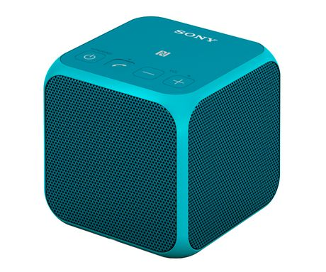 sony ultra portable bluetooth speaker blue srsx11l. Black Bedroom Furniture Sets. Home Design Ideas