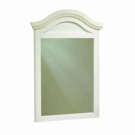 Miroir collection summer breeze south shore blanc for Miroir walmart