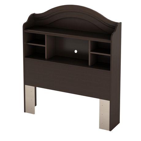 t te de lit biblioth que simple 39 po collection summer breeze de meubles south shore. Black Bedroom Furniture Sets. Home Design Ideas
