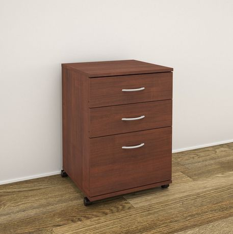 Nexera Essentials 3-Drawer Mobile File Cabinet | Walmart.ca