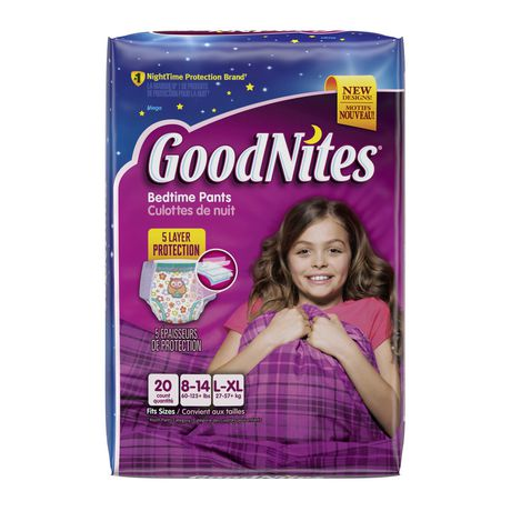 Goodnites 174 Underwear Mega Pack Walmart Ca