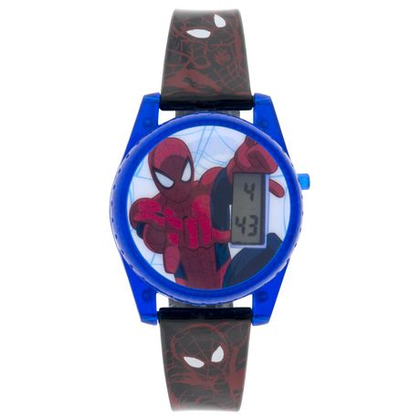 Spiderman boys lcd digital watch for Spiderman watches