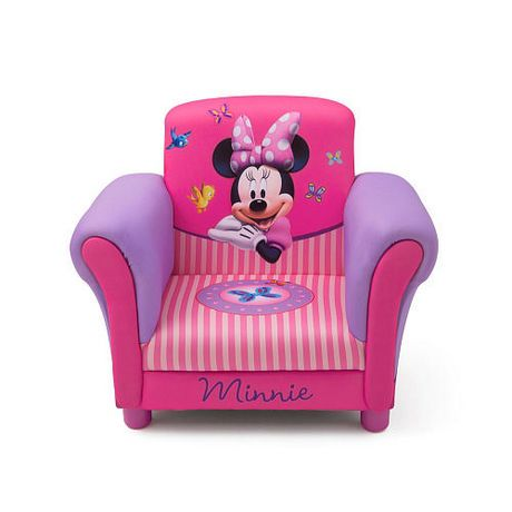 Disney minnie mouse upholstered chair for Chambre bebe toys r us
