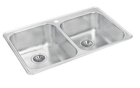 Wessan one and a half bowl kitchen sink - Walmart kitchen sinks ...