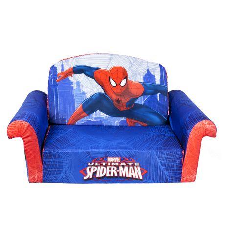 Marshmallow flip open sofa spiderman - Sofas cama infantiles ...