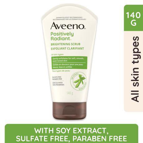 Aveeno Face Scrub Facial Exfoliator Walmart Canada
