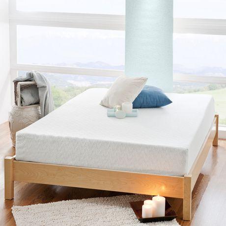 spa sensations 8 inch gel memory foam mattress. Black Bedroom Furniture Sets. Home Design Ideas