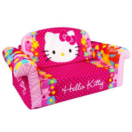 Marshmallow Hello Kitty Furniture Flip Open Sofa