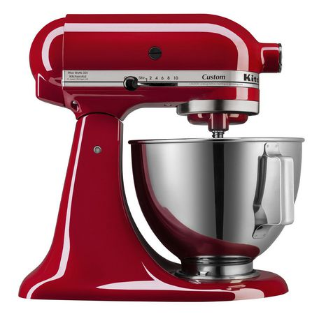 Kitchenaid custom 4 5 quart 4 3 l ultra power tilt head stand mixer - Walmart kitchen aid stand mixer ...