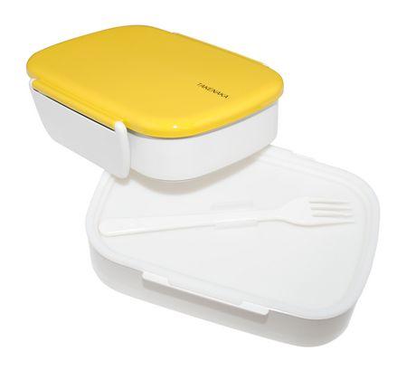 takenaka bento box double yellow. Black Bedroom Furniture Sets. Home Design Ideas