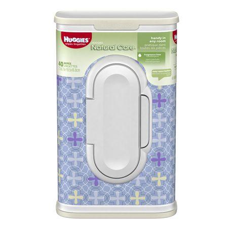 Huggies Natural Care Baby Wipes Designer Tub Walmart Ca