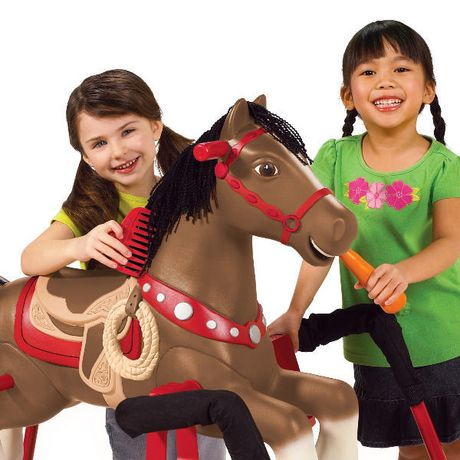 Blaze cheval bascule interactif for Cheval a bascule exterieur