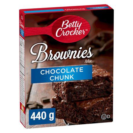 Betty Crocker Chocolate Chunk Brownies Mix Walmart Canada
