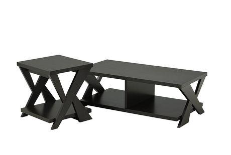 Brassex Coffee Table Set 2 Piece