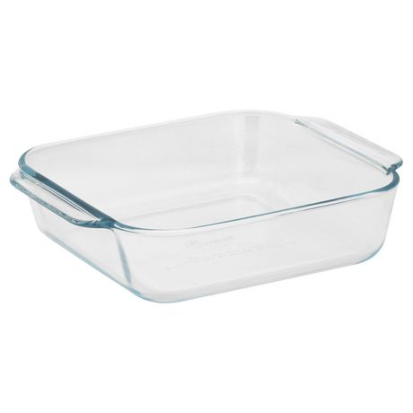 Pyrex 174 Basics 8 Quot Square Glass Baking Dish Walmart Ca