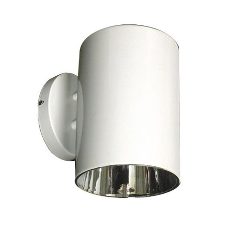 Birgitte 1 Light White Outdoor Wall Sconce